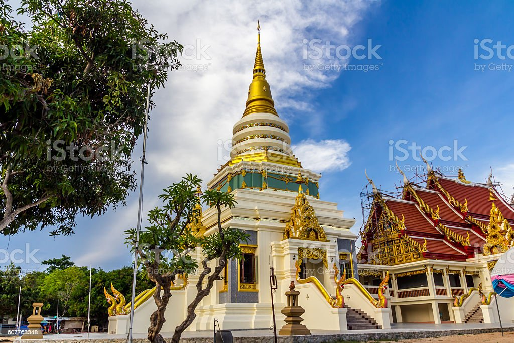 Buddhist temple royalty-free stock photo