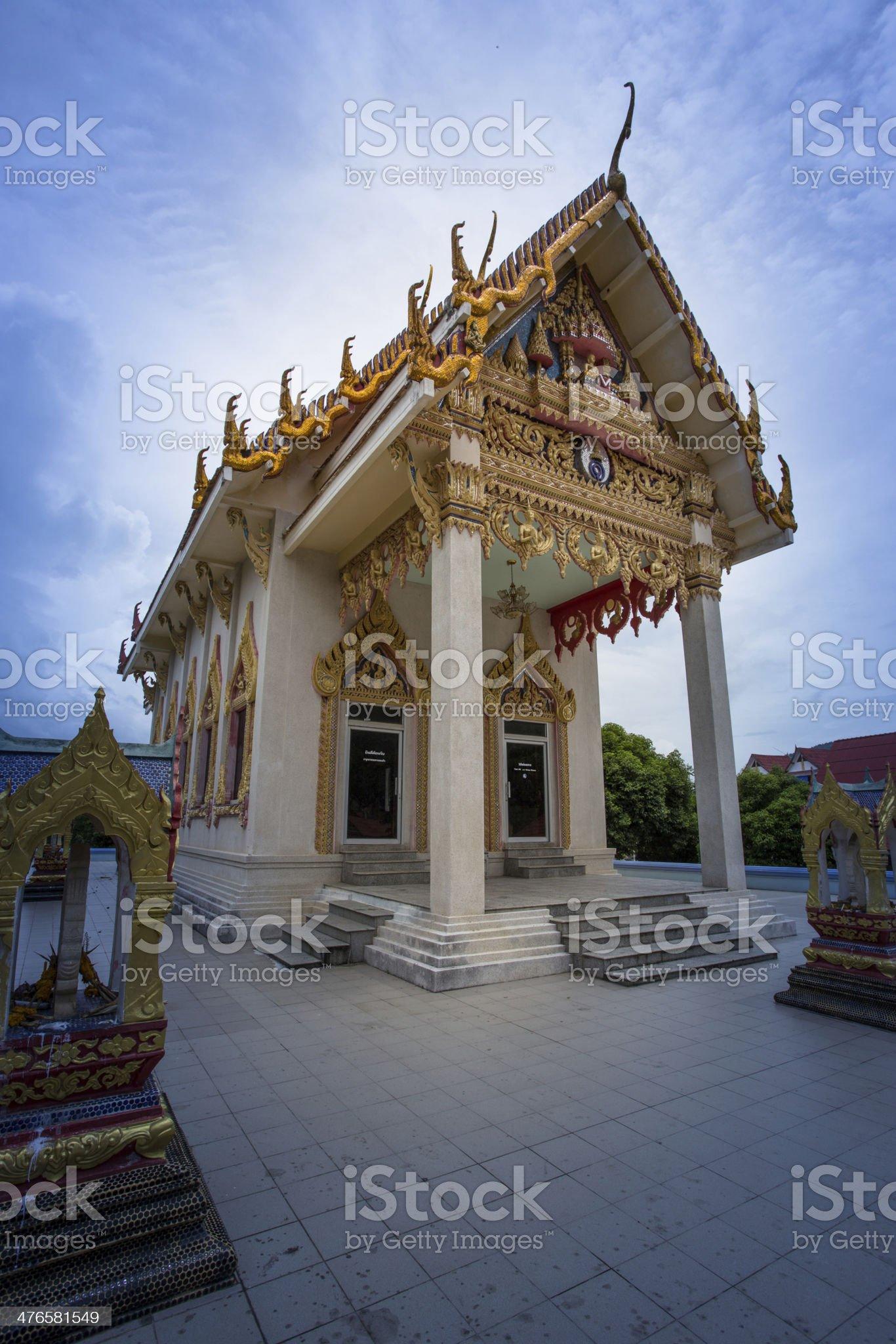 Buddhist temple, Thailand royalty-free stock photo