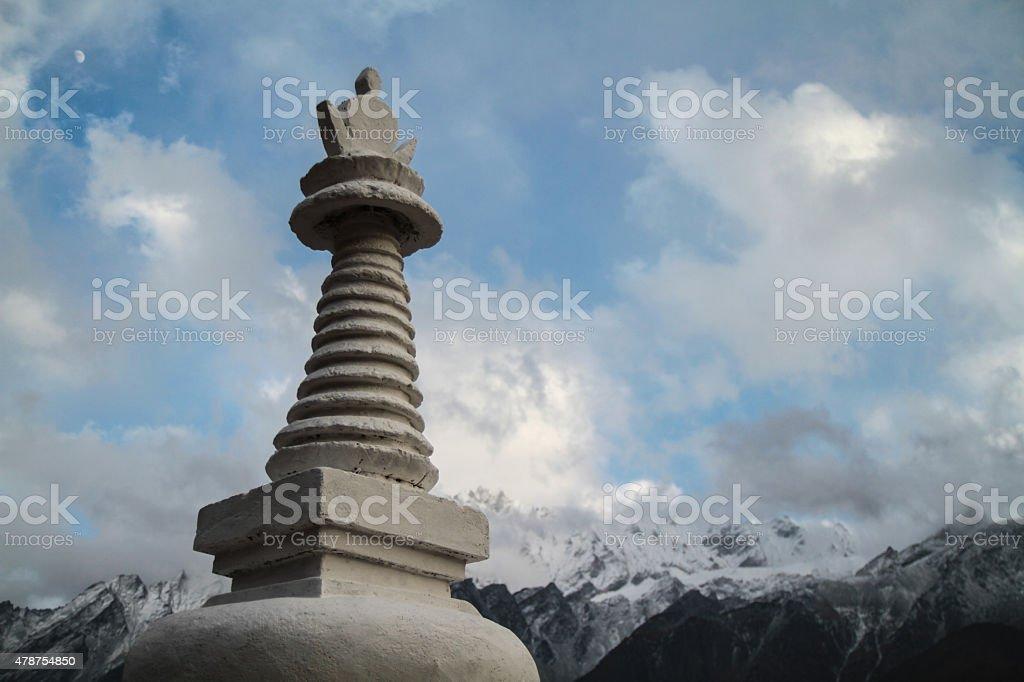 Buddhistic Stupa zbiór zdjęć royalty-free