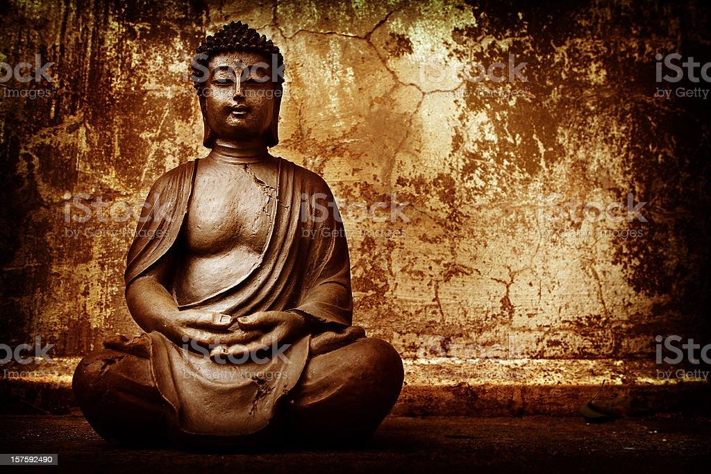 Buddist Meditation royalty-free stock photo