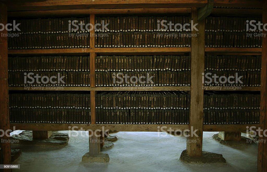 buddist scriptures #3 stock photo