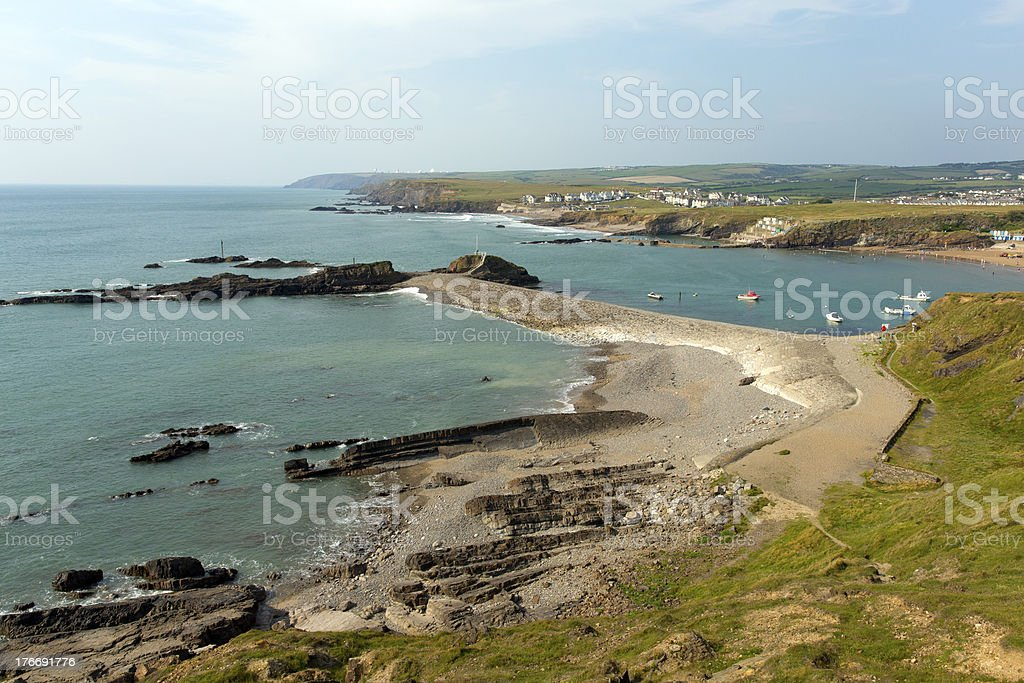 Bude Cornwall England UK between Tintagel and Clovelly stock photo