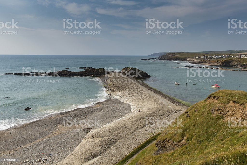 Bude North Cornwall between Tintagel and Clovelly England UK stock photo
