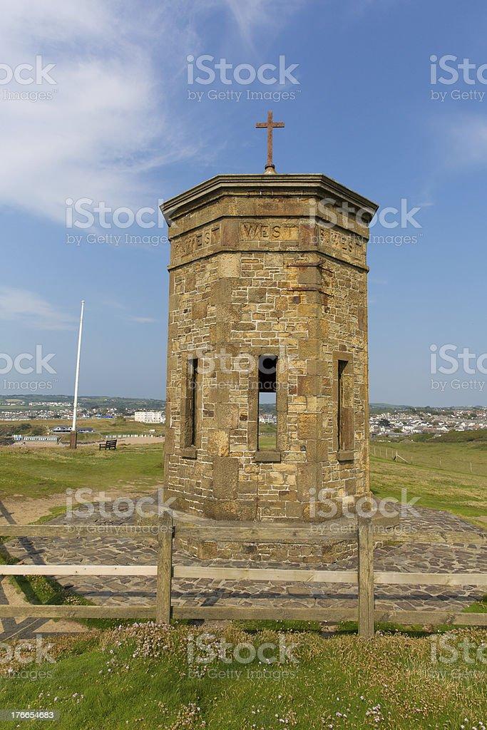 Bude tower Cornwall England UK stock photo