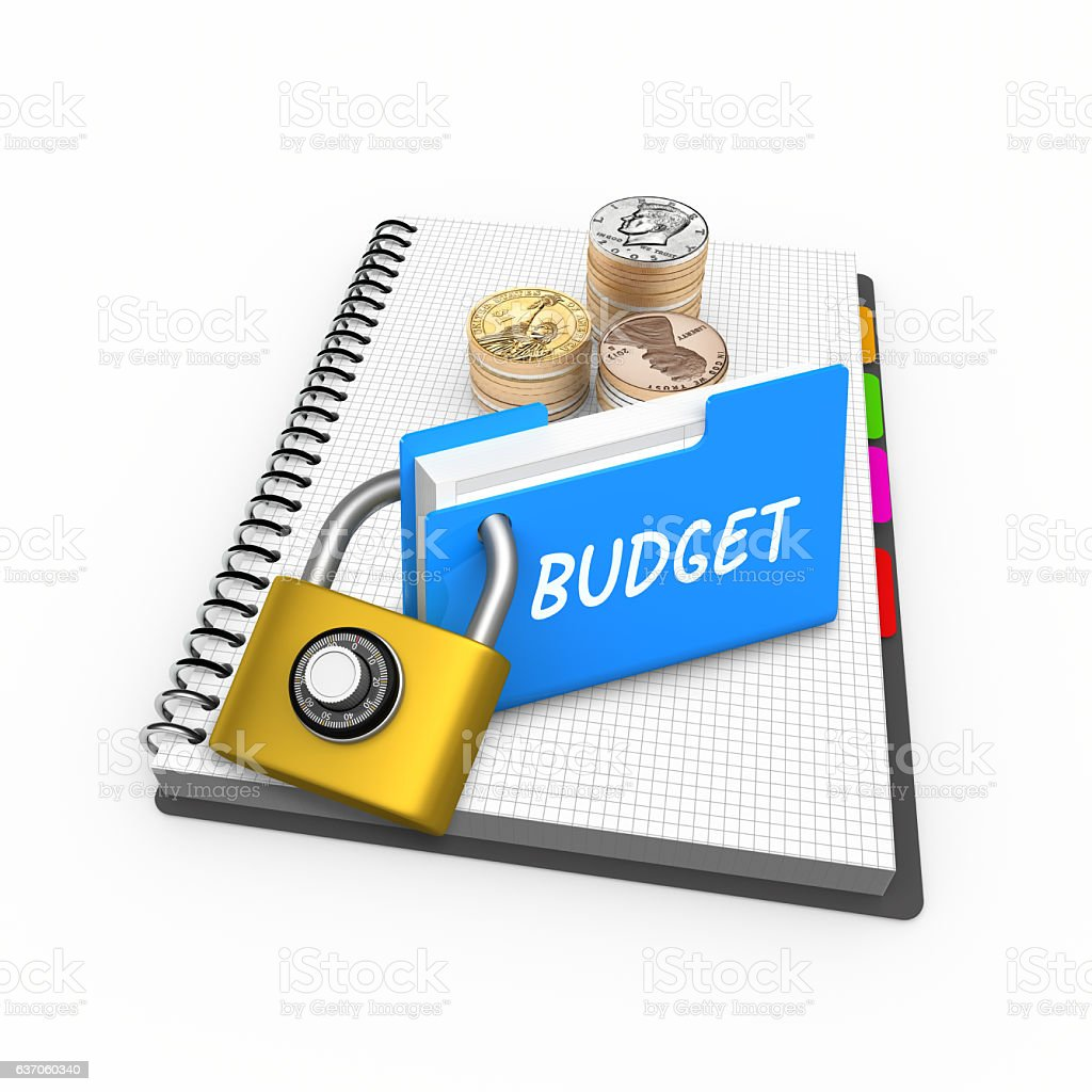 Budget Business Finance theme stock photo