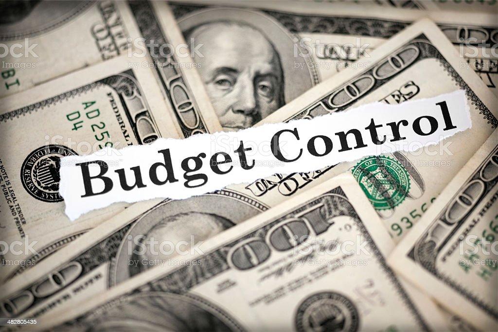 budget control stock photo
