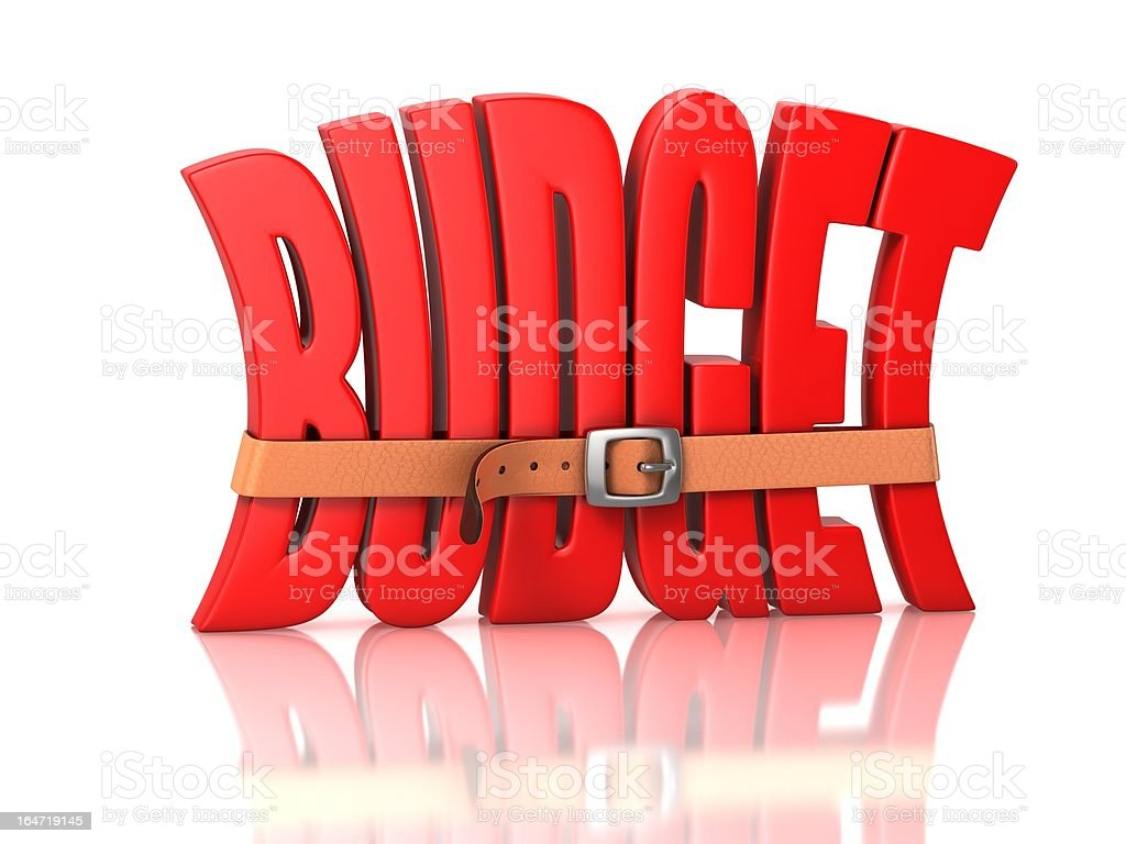budget deficit royalty-free stock photo