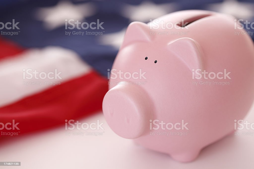 US Budget royalty-free stock photo