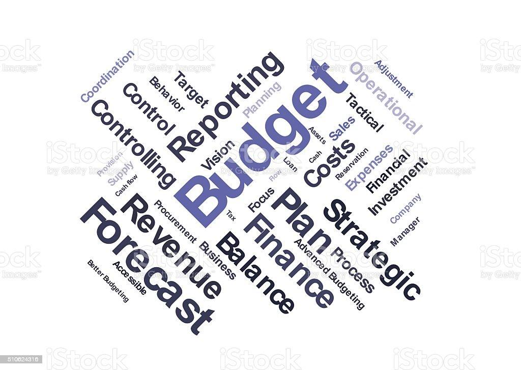 Budget stock photo