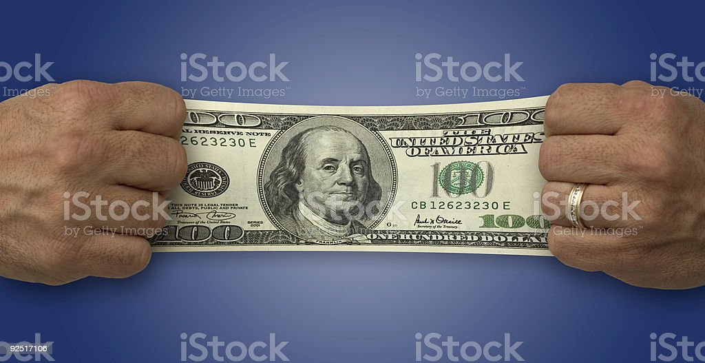 Budget Stretch royalty-free stock photo