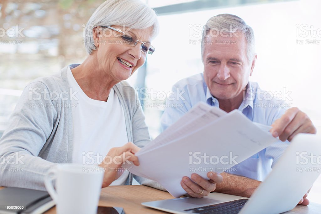 Budgeting made easier with modern technology stock photo