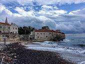 Budva Old Town Beach