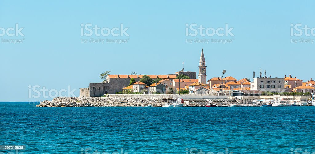 Budva stock photo