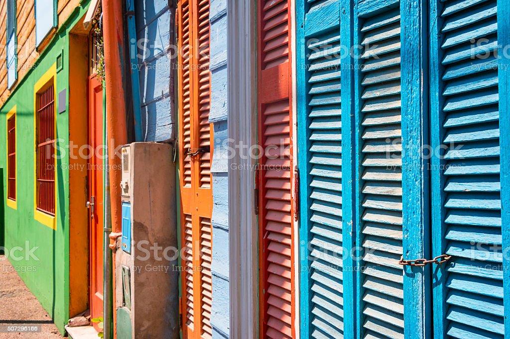Buenos Aires Argentina Colorful La Boca stock photo