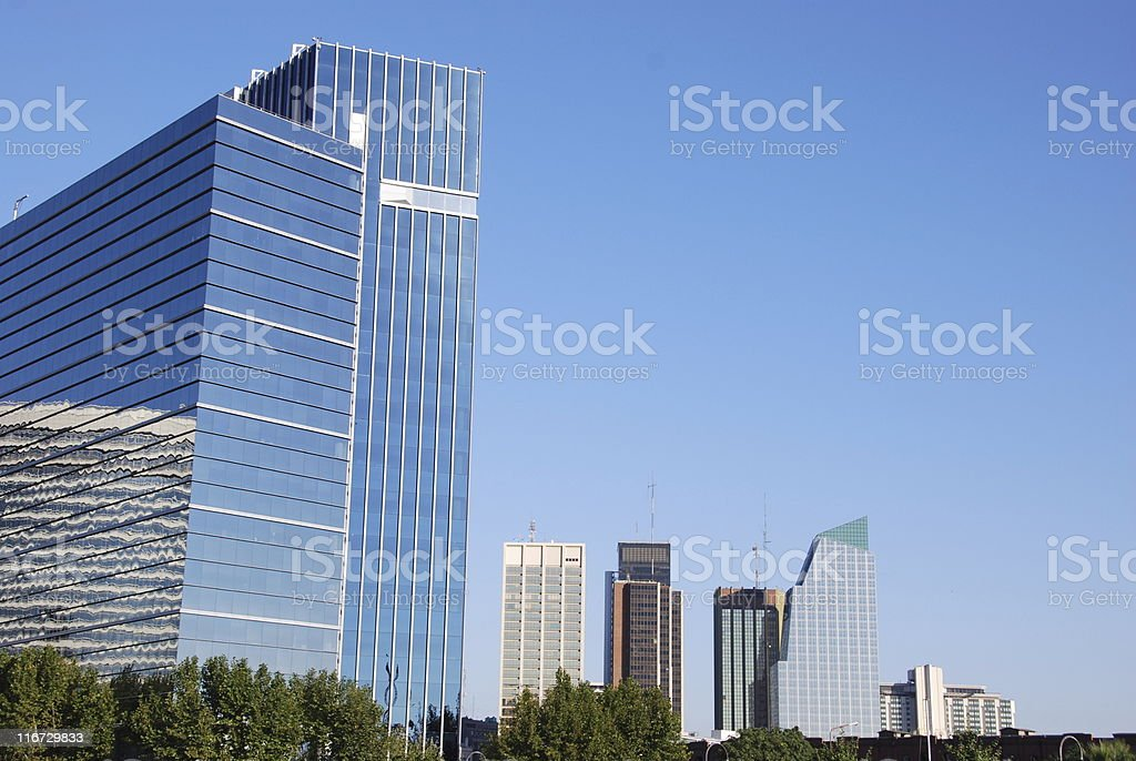Buenos Aires Business Park royalty-free stock photo