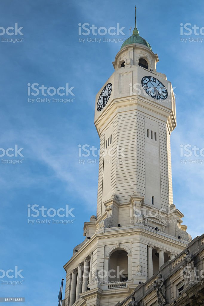 Buenos Aires City Council Tower royalty-free stock photo