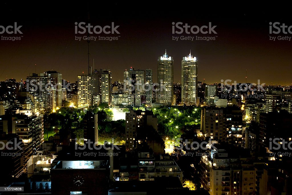 Buenos Aires City royalty-free stock photo
