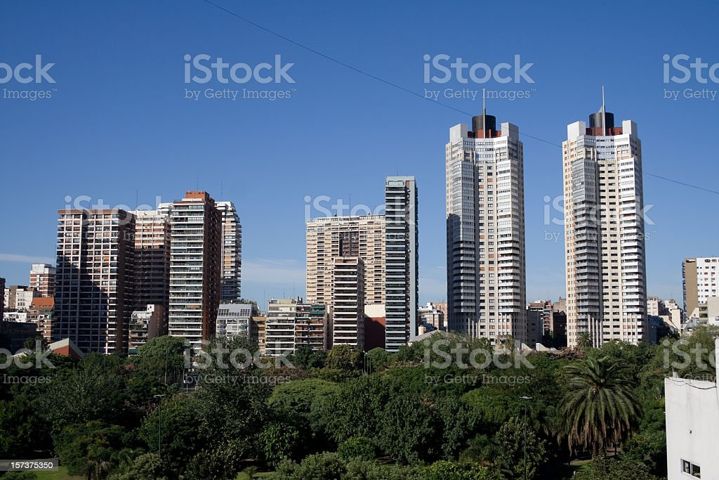 Buenos Aires, city view royalty-free stock photo