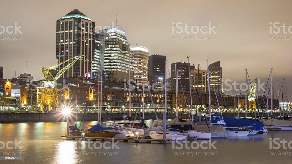 Buenos Aires Cityscape, Capital City of Argentina royalty-free stock photo