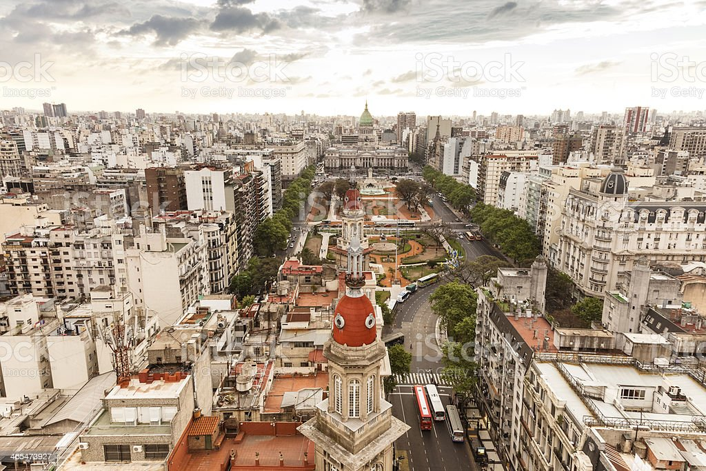 Buenos Aires Cityscape stock photo