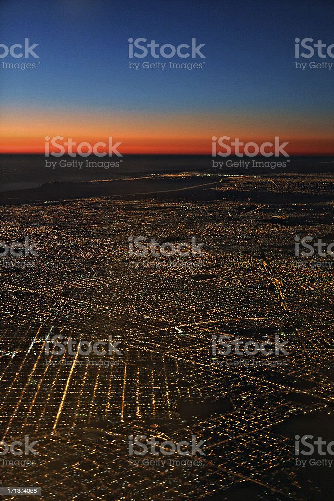 Buenos Aires morning stock photo