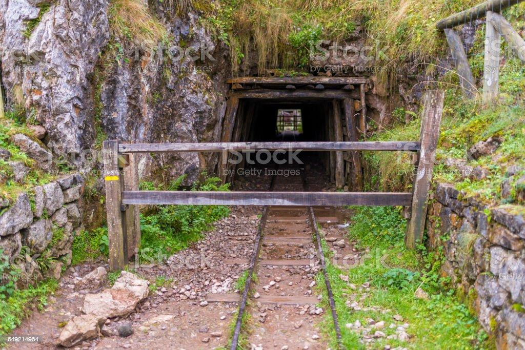 Buferrera mines (Covadonga, Asturias - Spain). stock photo