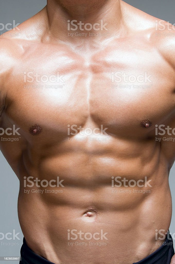 Buff Chest royalty-free stock photo