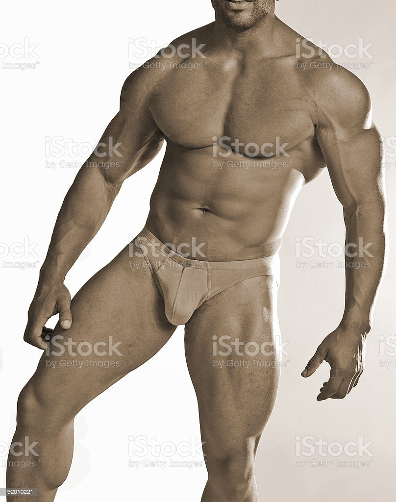 Buff guy royalty-free stock photo