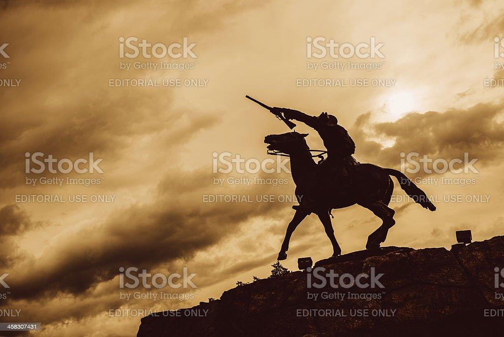 Buffalo Bill Cody royalty-free stock photo