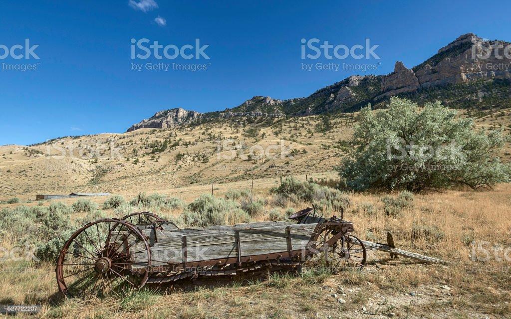 Buffalo Bill State Park, Cody, Wyoming, USA. stock photo
