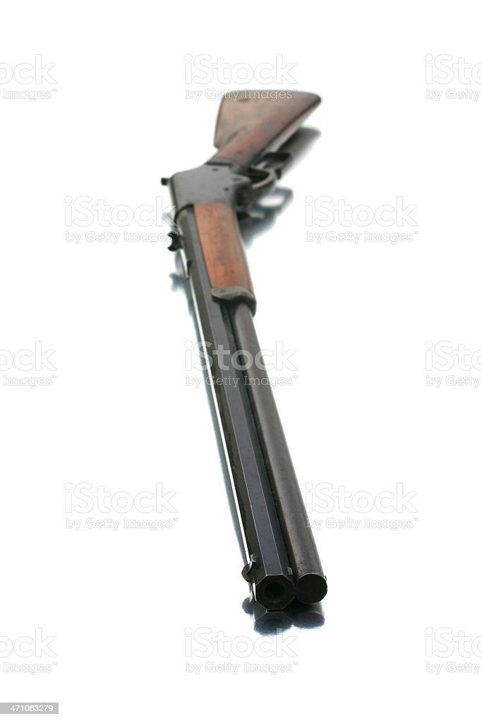 Buffalo Gun - Barrel View royalty-free stock photo