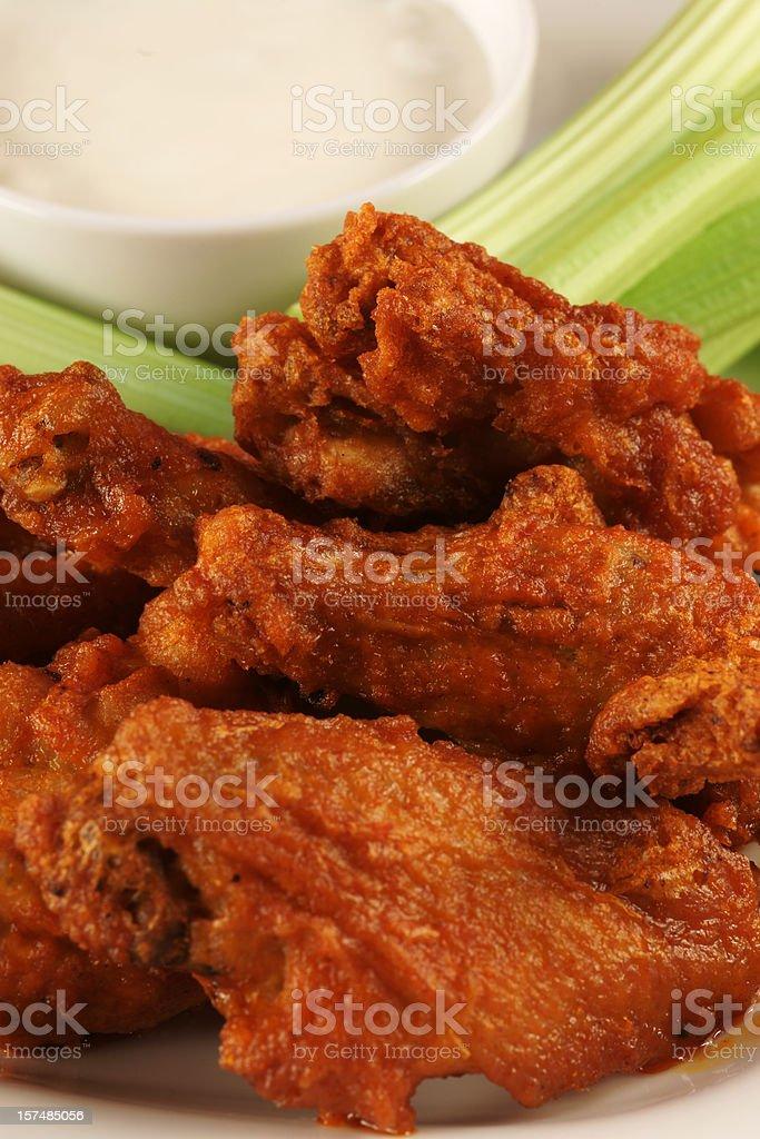 Buffalo Hot Wings royalty-free stock photo