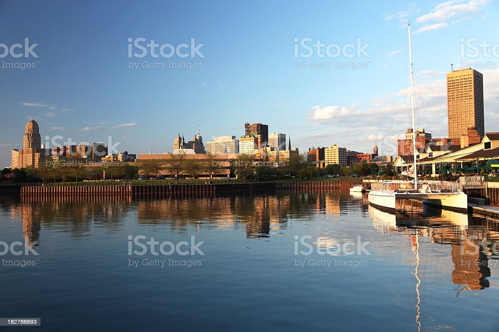 Buffalo New York stock photo