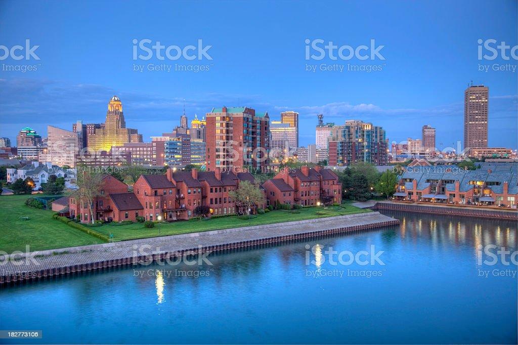 Buffalo New York royalty-free stock photo