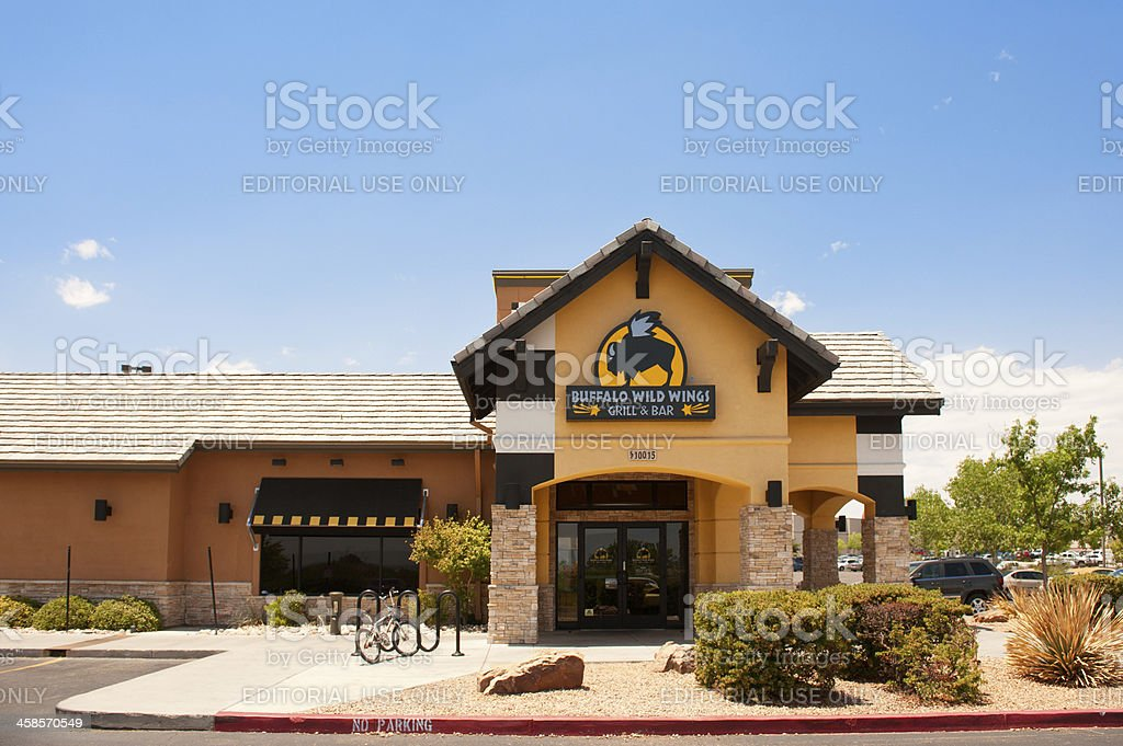 Buffalo Wild Wings Bar and Grill stock photo