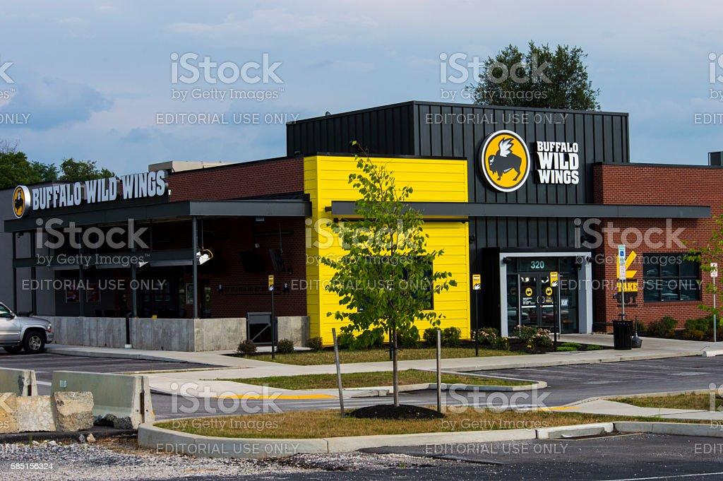 Buffalo Wild Wings, York, PA 17404 - 07312016 stock photo