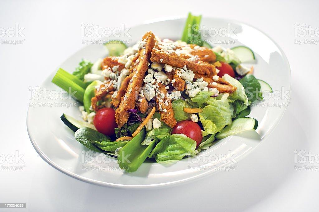 Buffalo WIng Chicken Salad stock photo