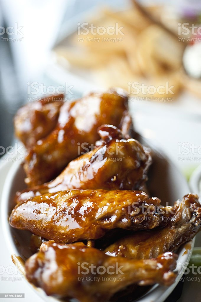 Buffalo wings royalty-free stock photo