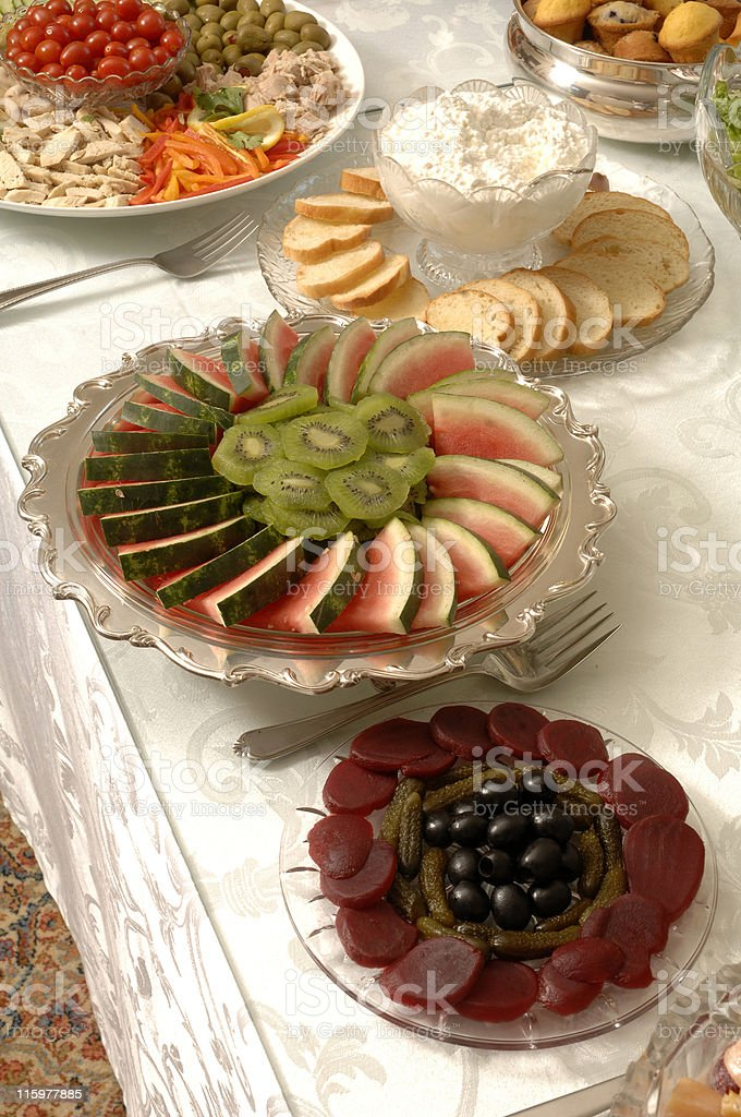 Buffet 2 royalty-free stock photo