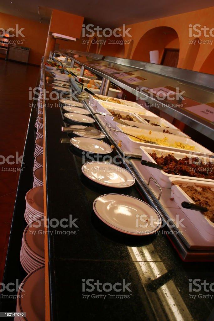 Petit déjeuner Buffet photo libre de droits