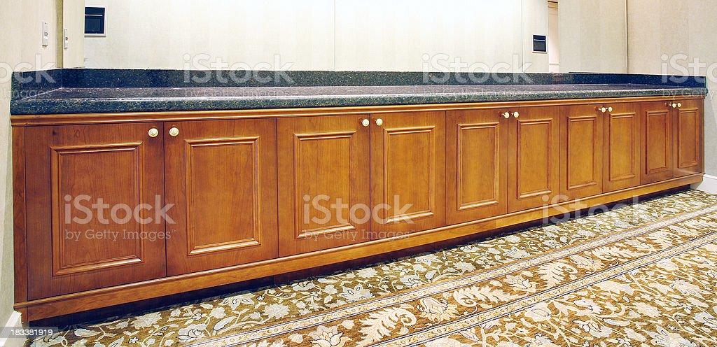 Buffet stock photo