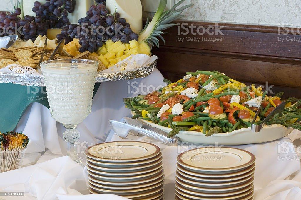 Buffet Salad royalty-free stock photo