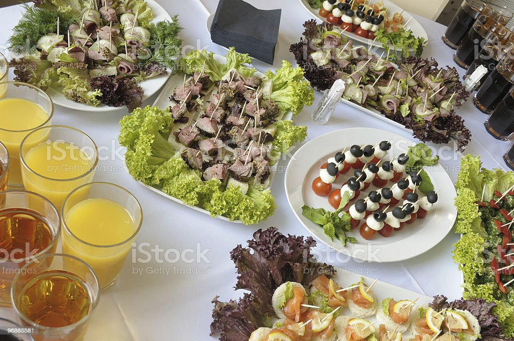 Buffet table. royalty-free stock photo