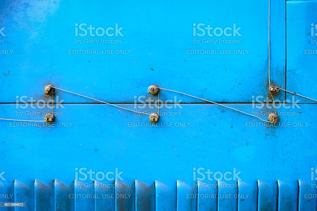 Bugatti Type 35 vintage race car detail stock photo
