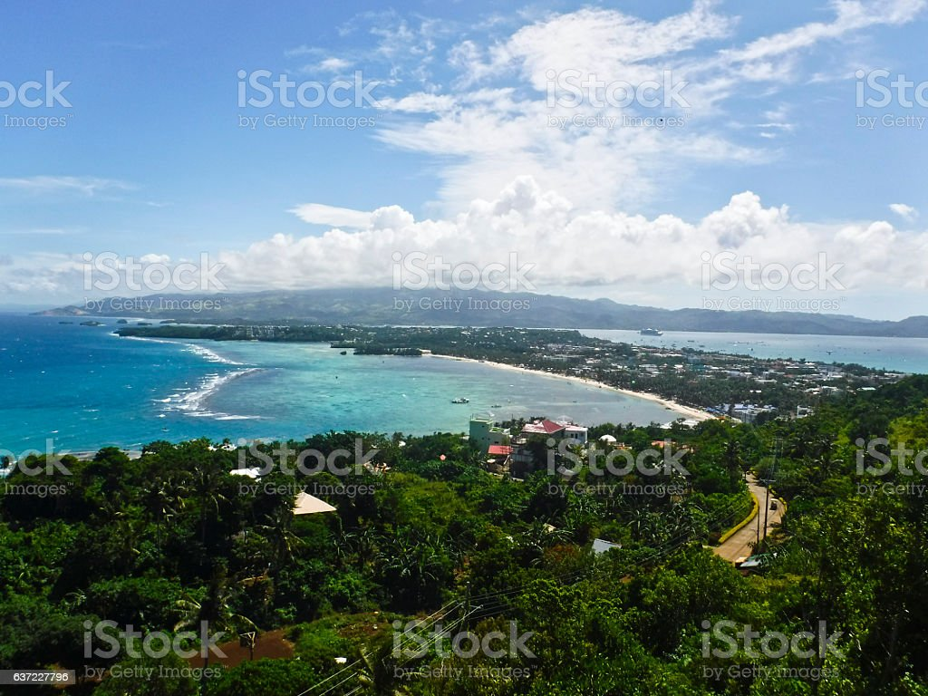 Buggy Excursion - Borocay, Philippines stock photo