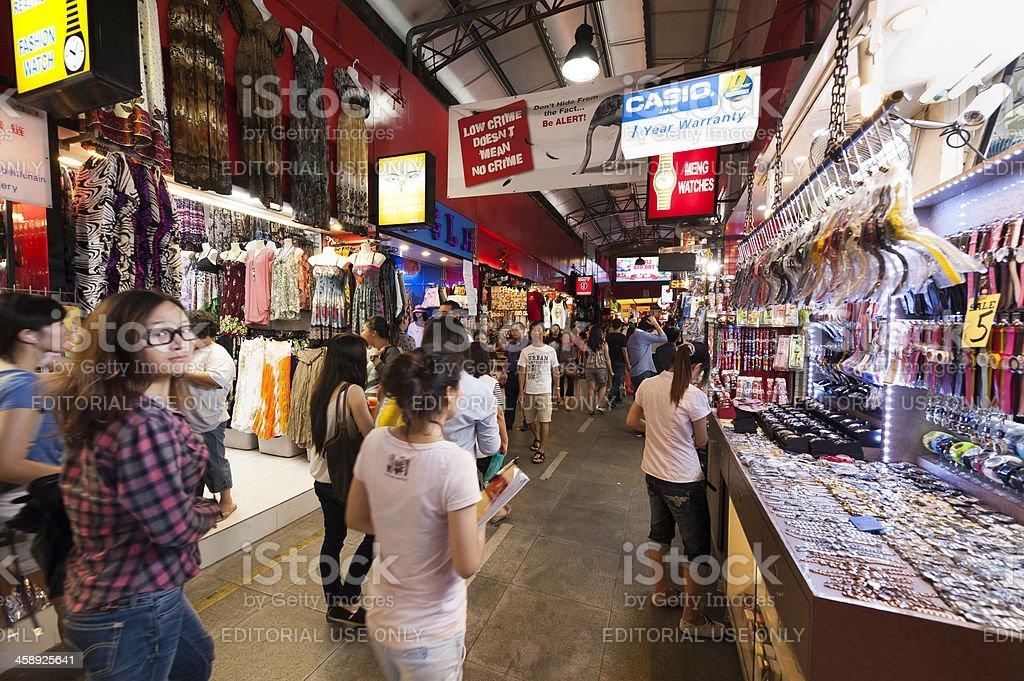 Bugis Street Market royalty-free stock photo