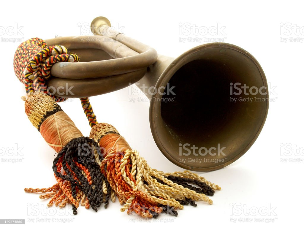 Bugle royalty-free stock photo