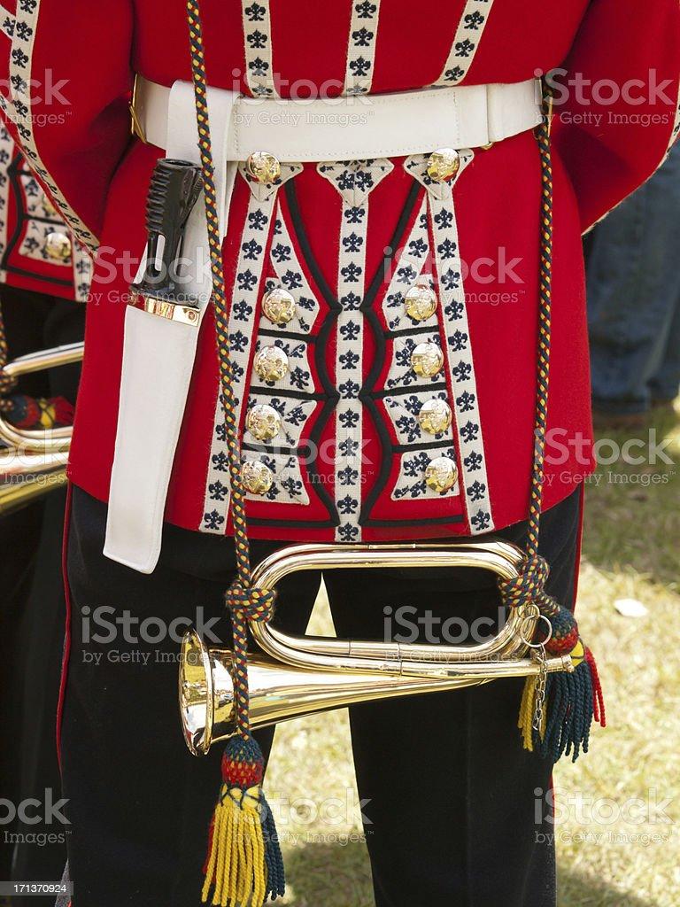 Bugle royalty-free stock photo