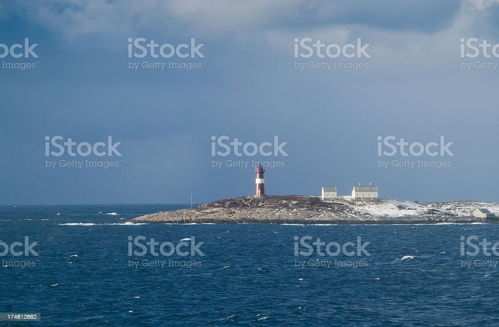 Buholmråsa Lighthouse stock photo