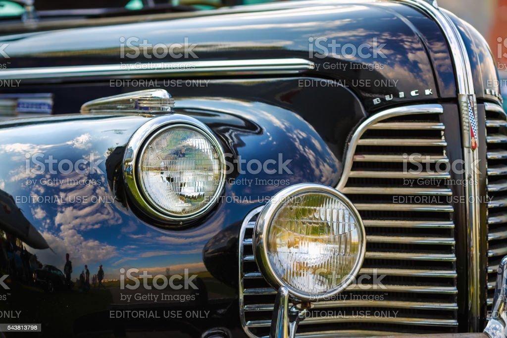 Buick Eight 1940 stock photo